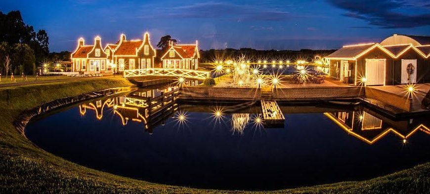 Carambeí e Luzes de Natal