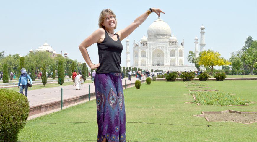 Taj Mahal – uma jóia de visita!