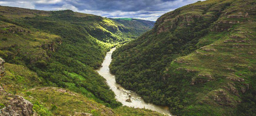 Canion Guartelá na Quinta